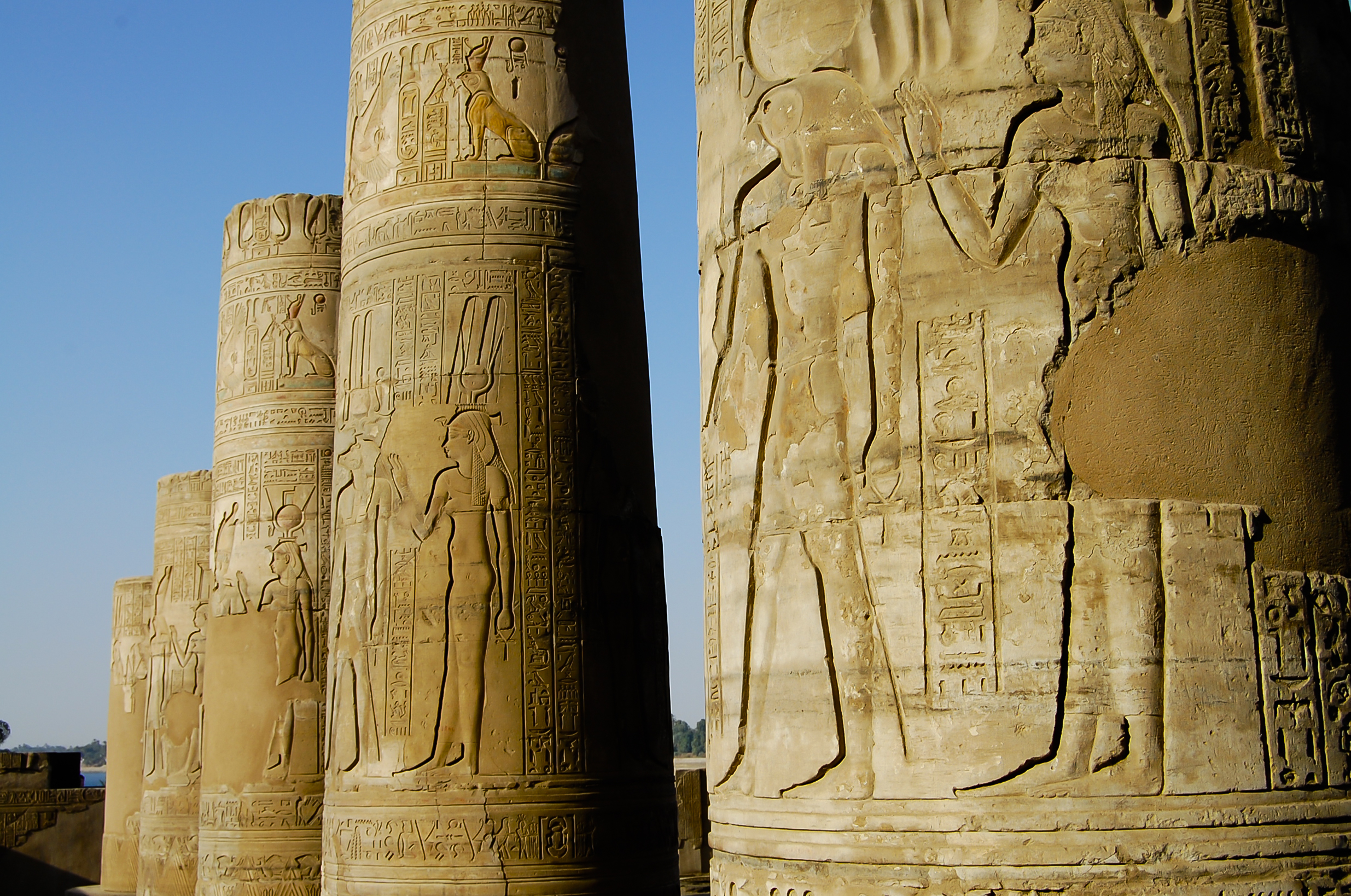 Templo de Kom Ombo en Egipto