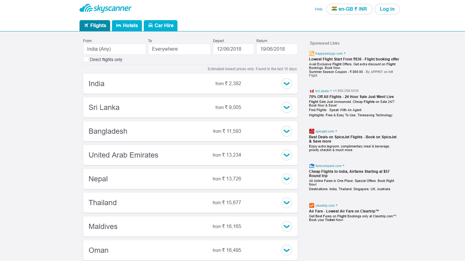 Fare Compare Tools -All You Need to Know - Skyscanner India