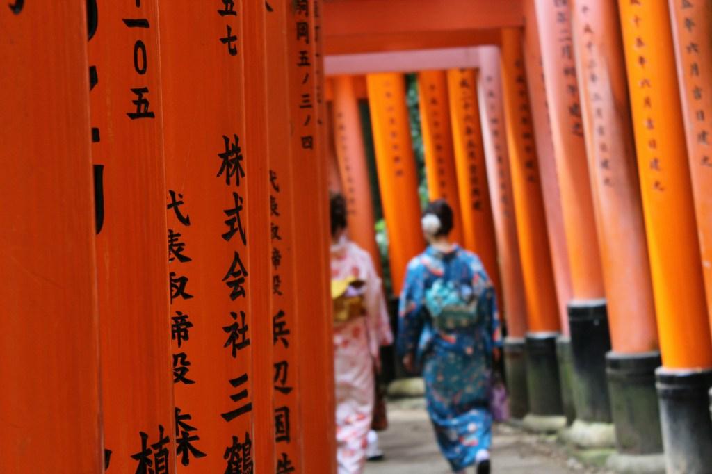 Lugares que ver en Kioto: Fushimi Inari-Taisha