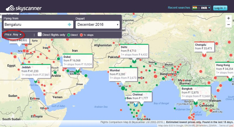 Daily Deals from Skyscanner India - Skyscanner India