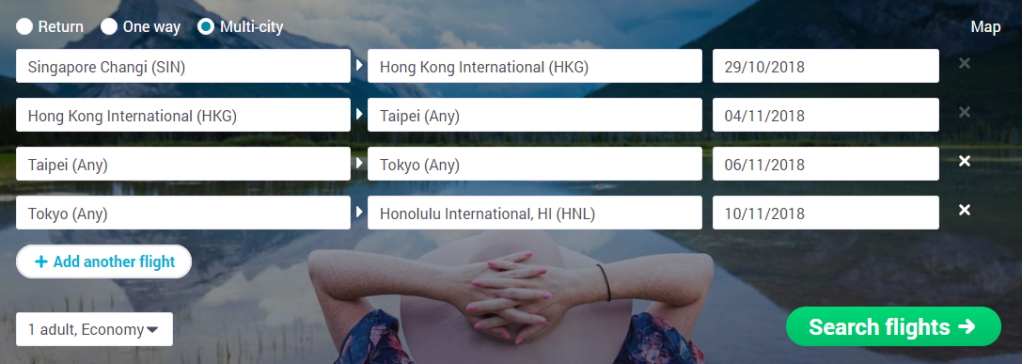 How to Book a Multi-Day Layover to See Another City for Free. Multi-City Search Tool. Skyscanner Canada.