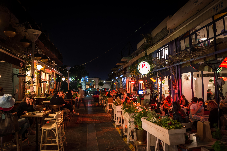 La noche en Tel Aviv, Israel