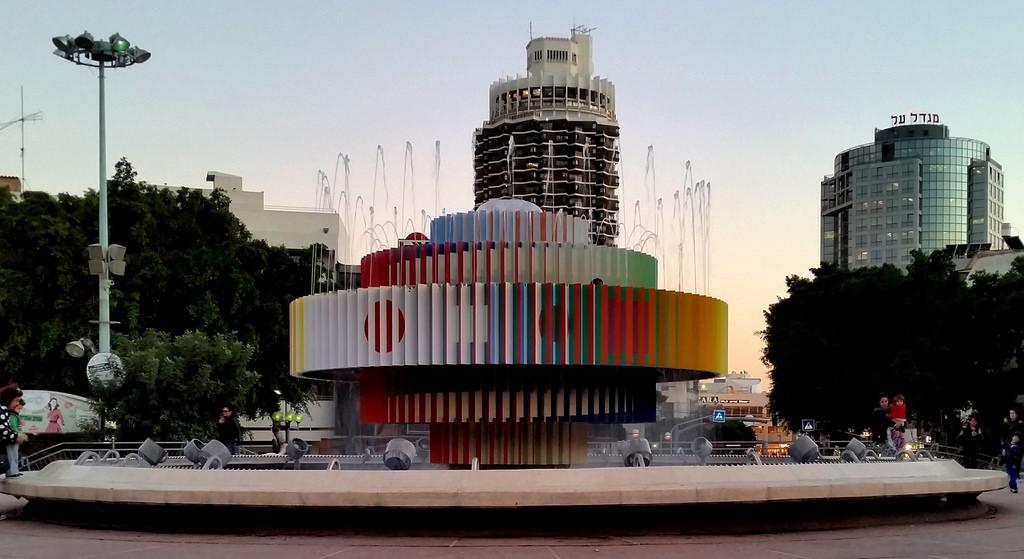 Dizengoff Square en Tel Aviv, Israel