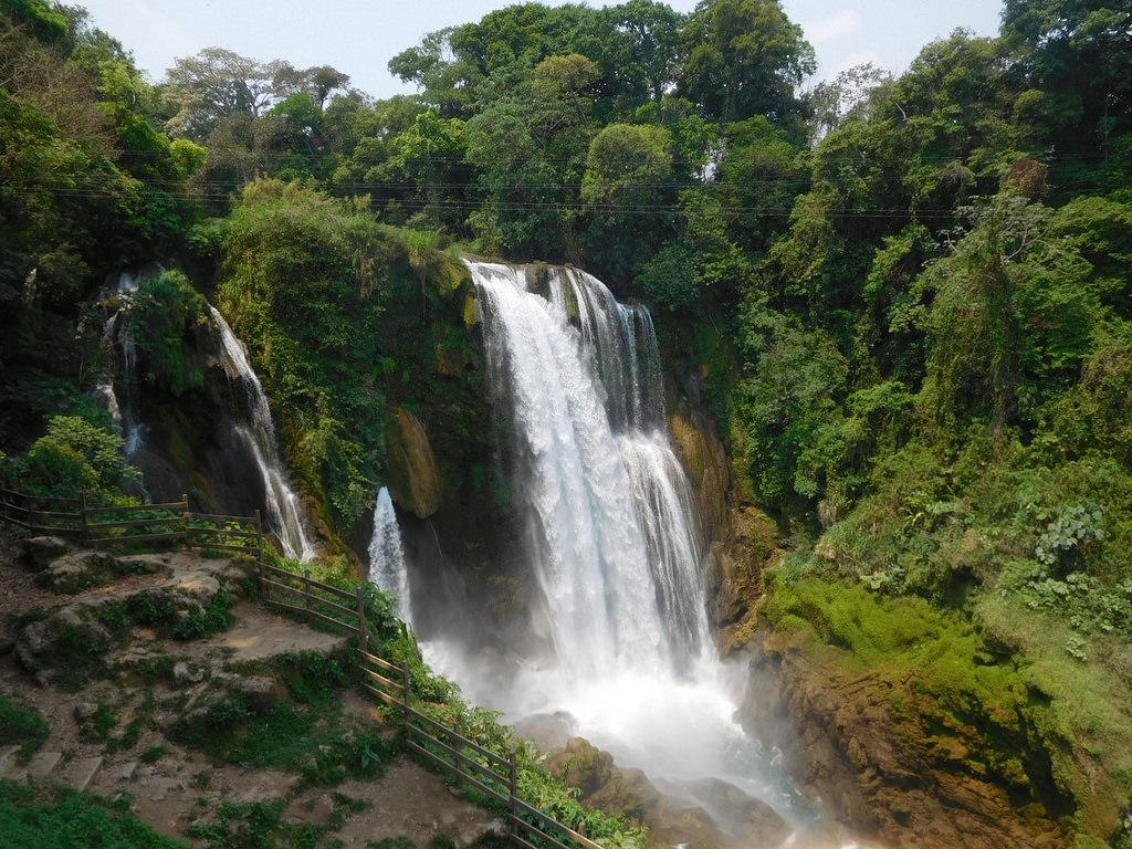 Cataratas Pulhapanzak en Honduras