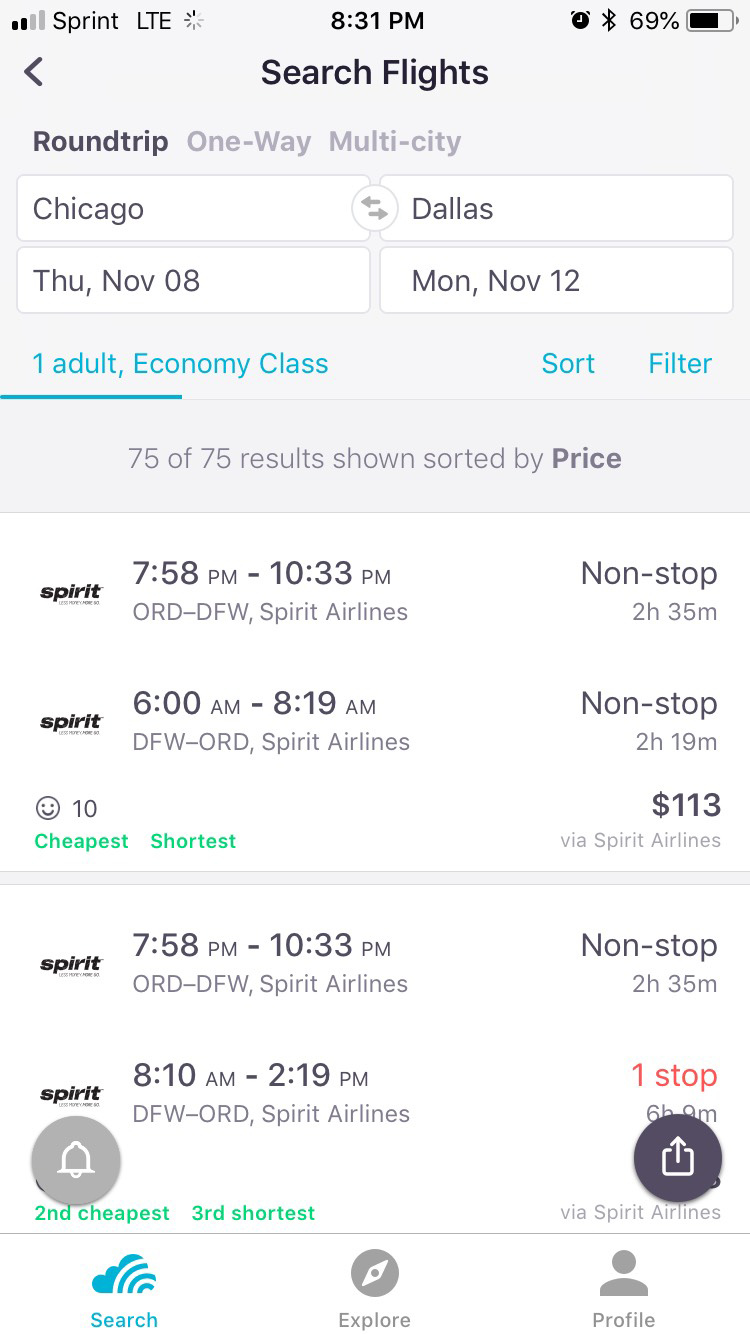 Spirit Airlines Promo Codes & Flight Sales 2019 | Skyscanner