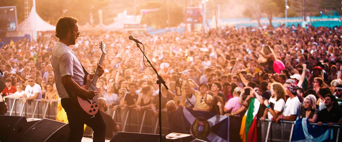 The Benicassim Rock and Pop Festival