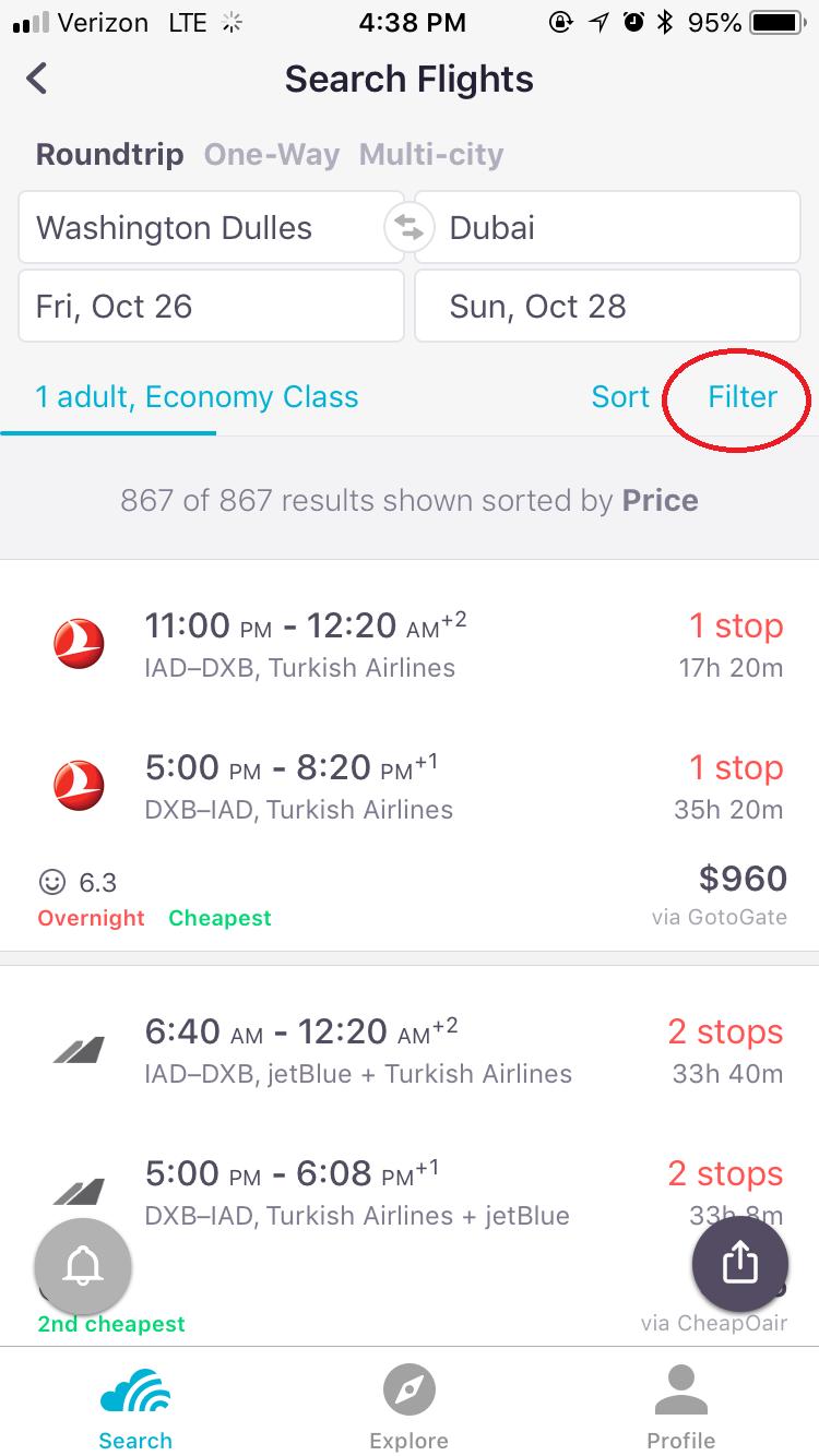 Emirates Black Friday & Cyber Monday Flight Deals 2019