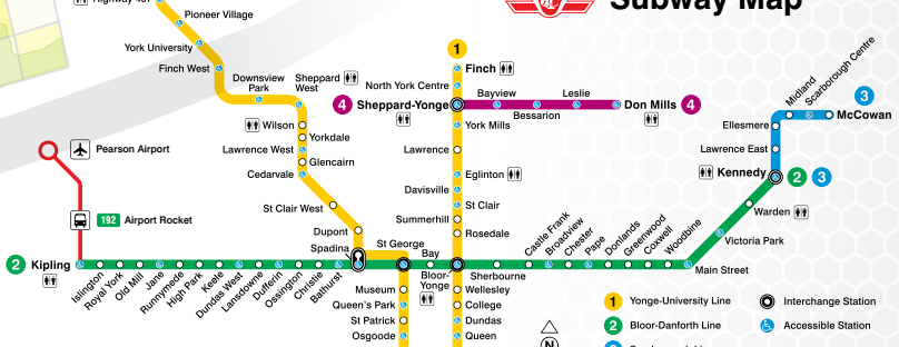 Toronto Subway Map Union Station.Ttc In Toronto Explore T O Like A Local Skyscanner Canada