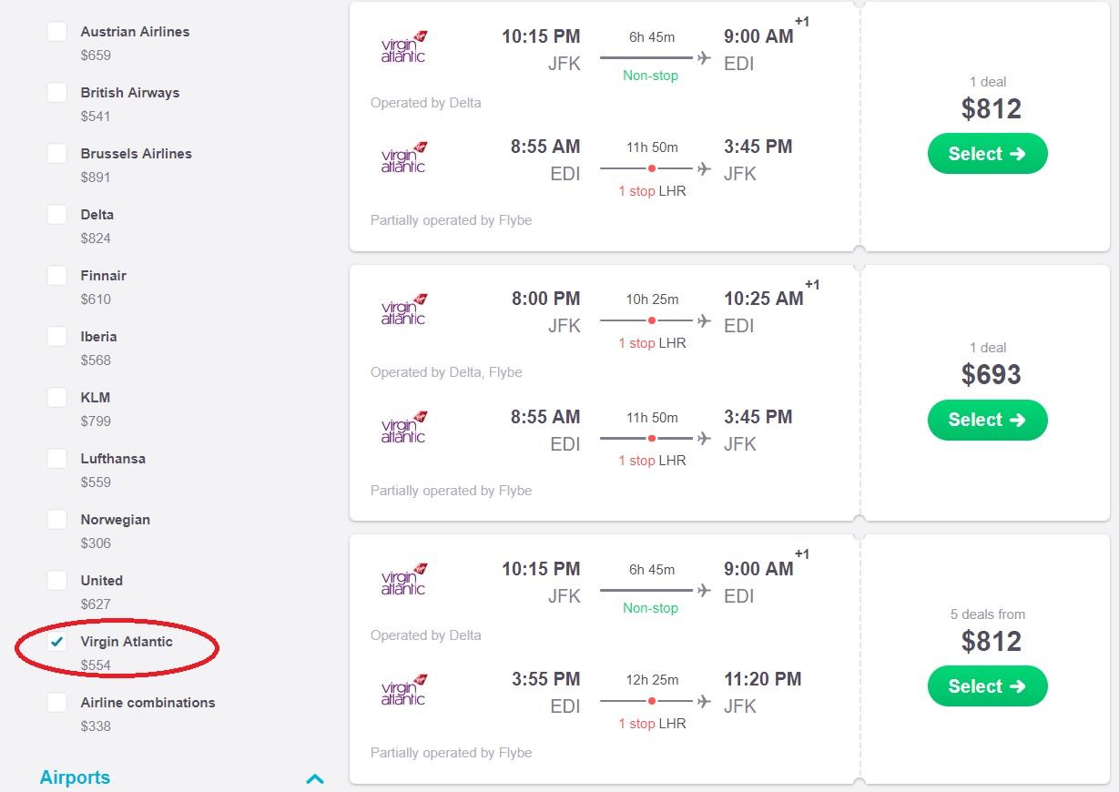 Virgin Atlantic Black Friday & Cyber Monday Flight Deals | Skyscanner