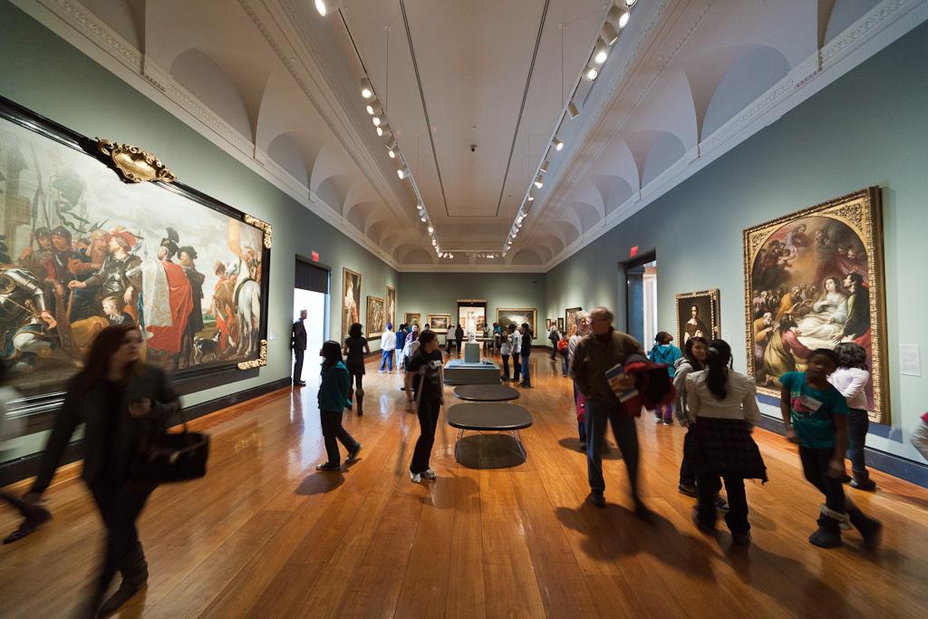 Inside the Art Gallery of Ontario in Toronto, Canada.