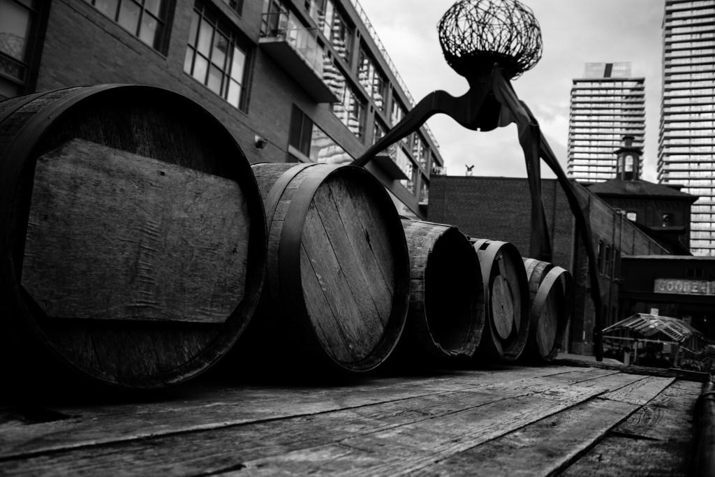 Distillery District in Toronto, Canada.