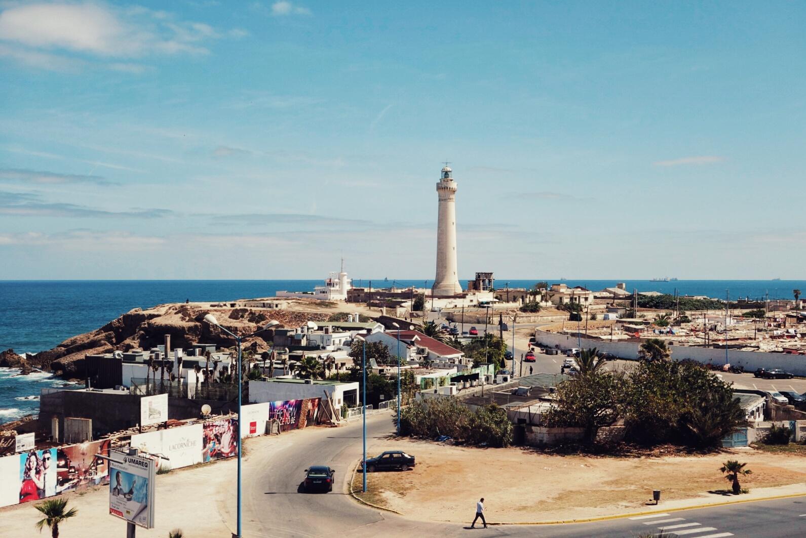 faro de El Hank Casablanca Morocco