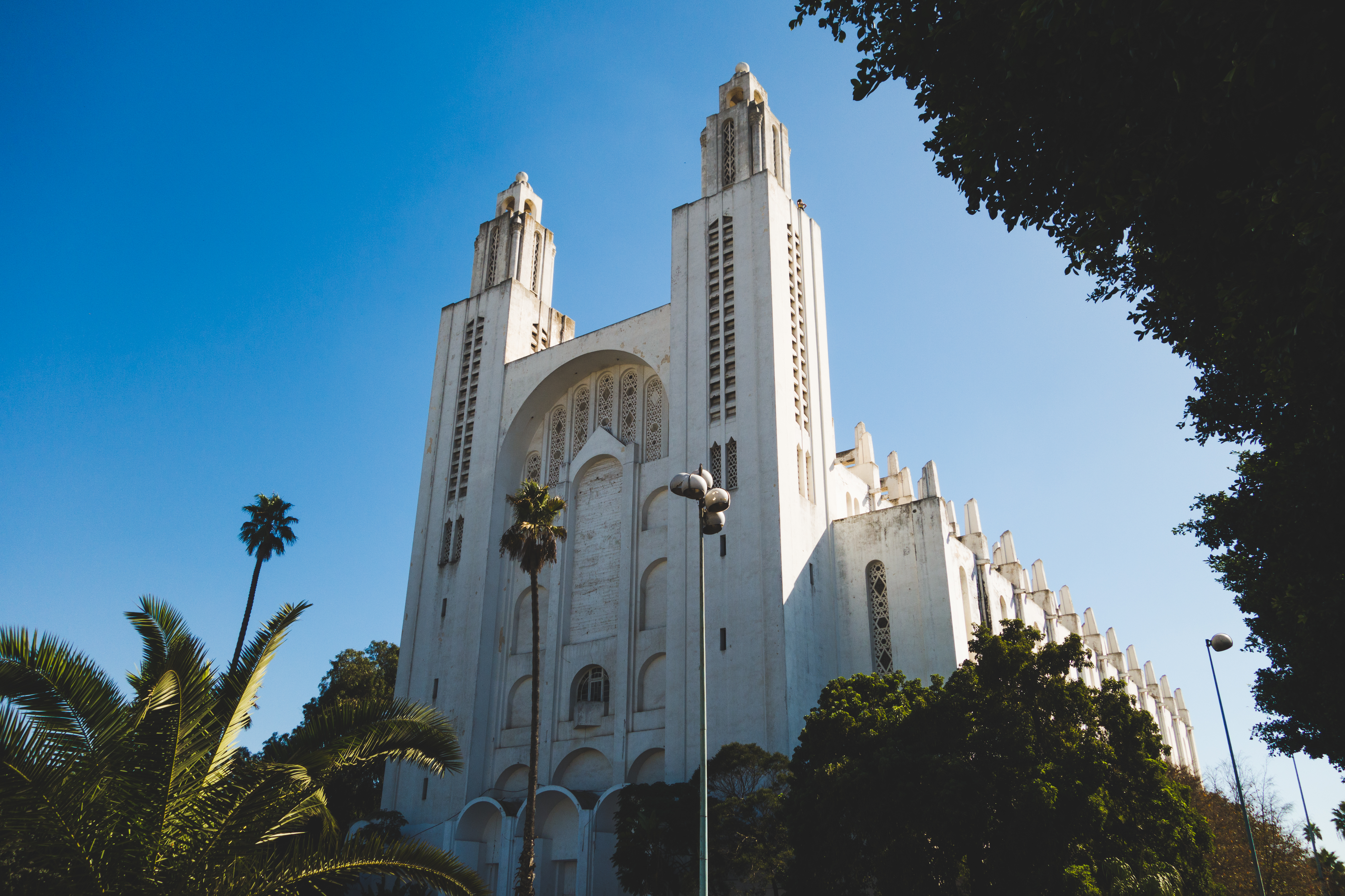 Casablanca Cathedral, or Church of the Sacred Heart of Jesus, is a former Roman Catholic church located in Casablanca, Morocco.