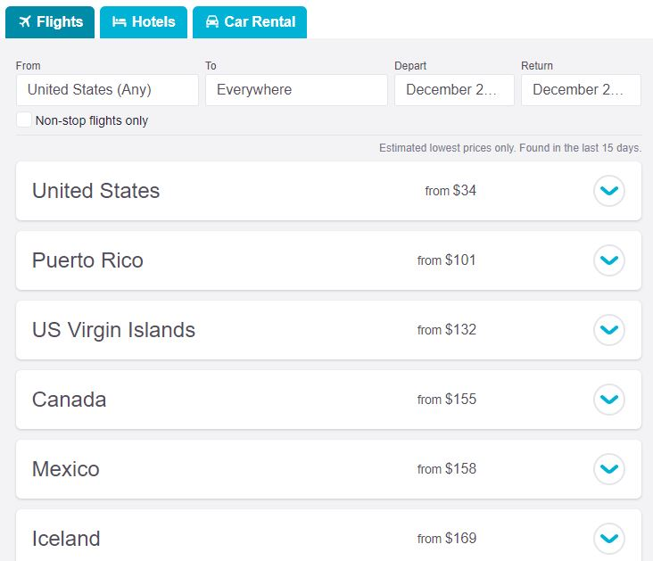 find cheap flights with skyscanner - Best Time To Buy Airline Tickets For Christmas