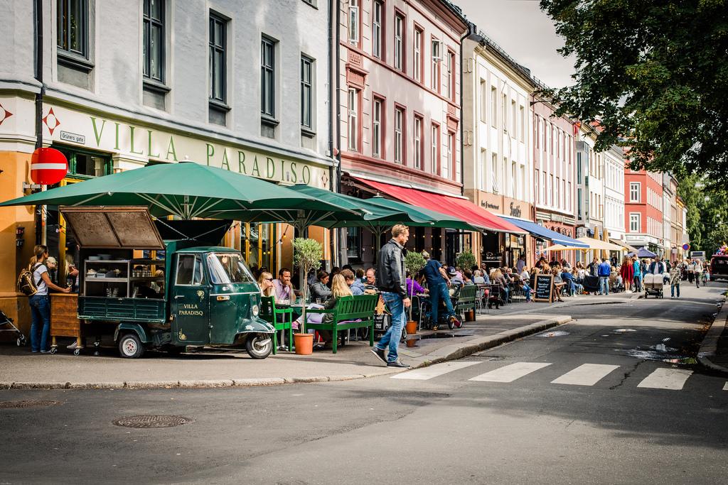 Barrio de Grunerlokka en Oslo