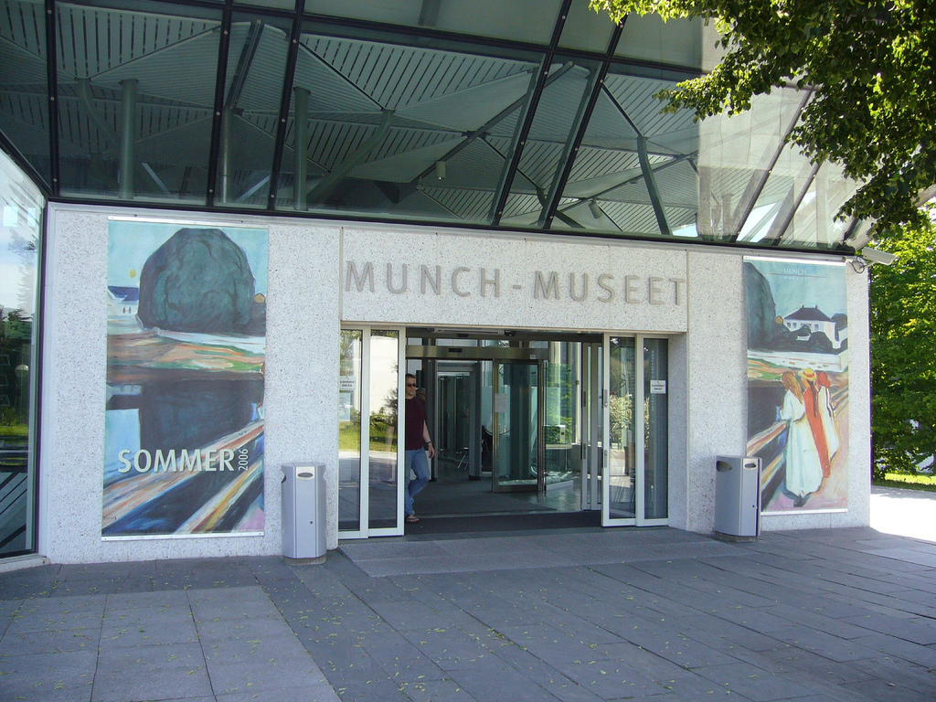 Museo Munch en Oslo, Noruega