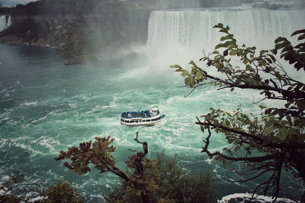 Cataratas del Niágara, cerca de Toronto, en Canadá
