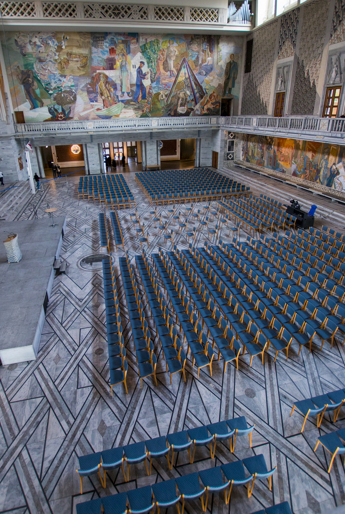 Centro del Premio Nobel de la Paz en Oslo, Noruega