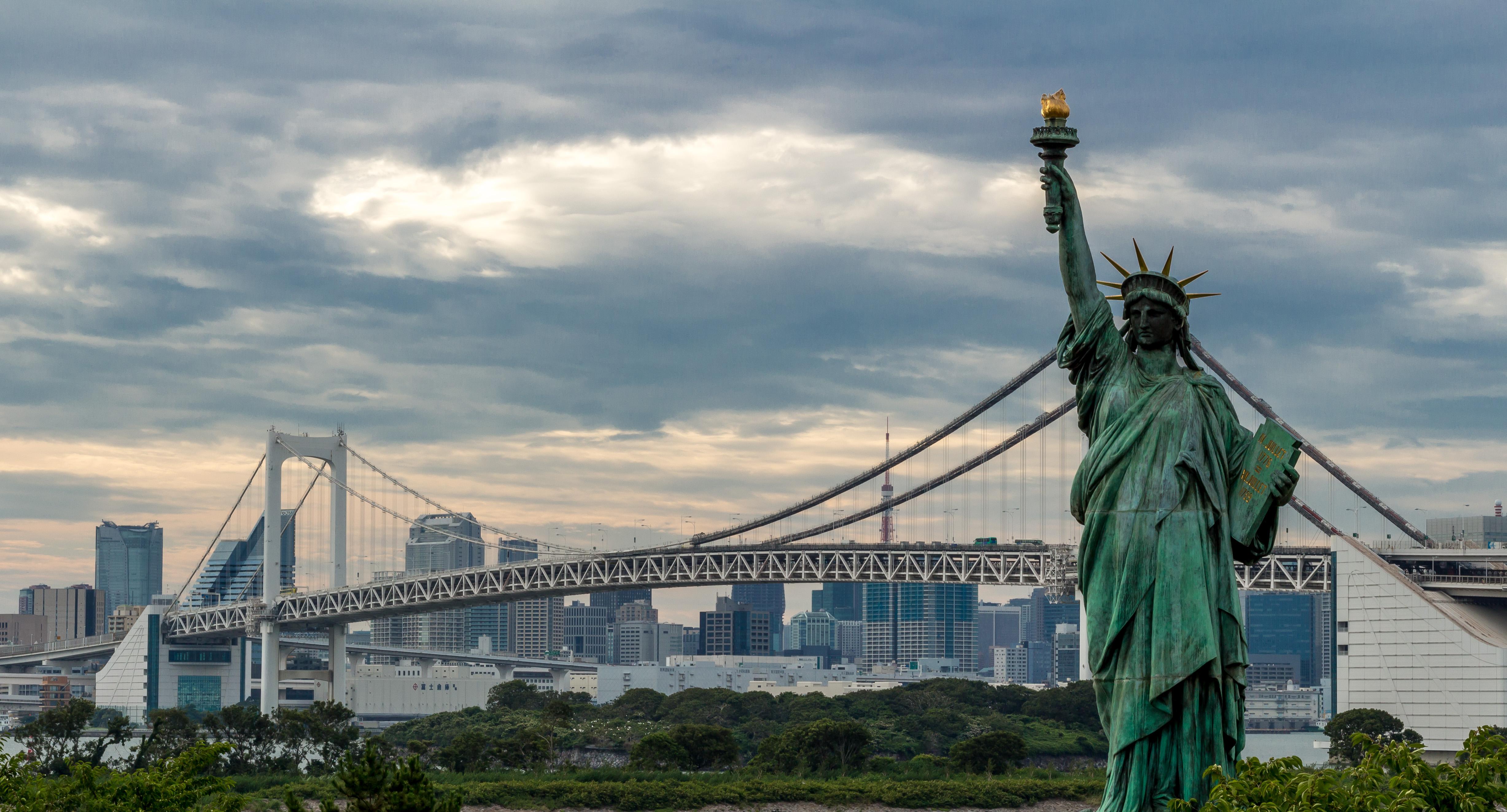 Qué ver en Tokio: la estatua de la libertad