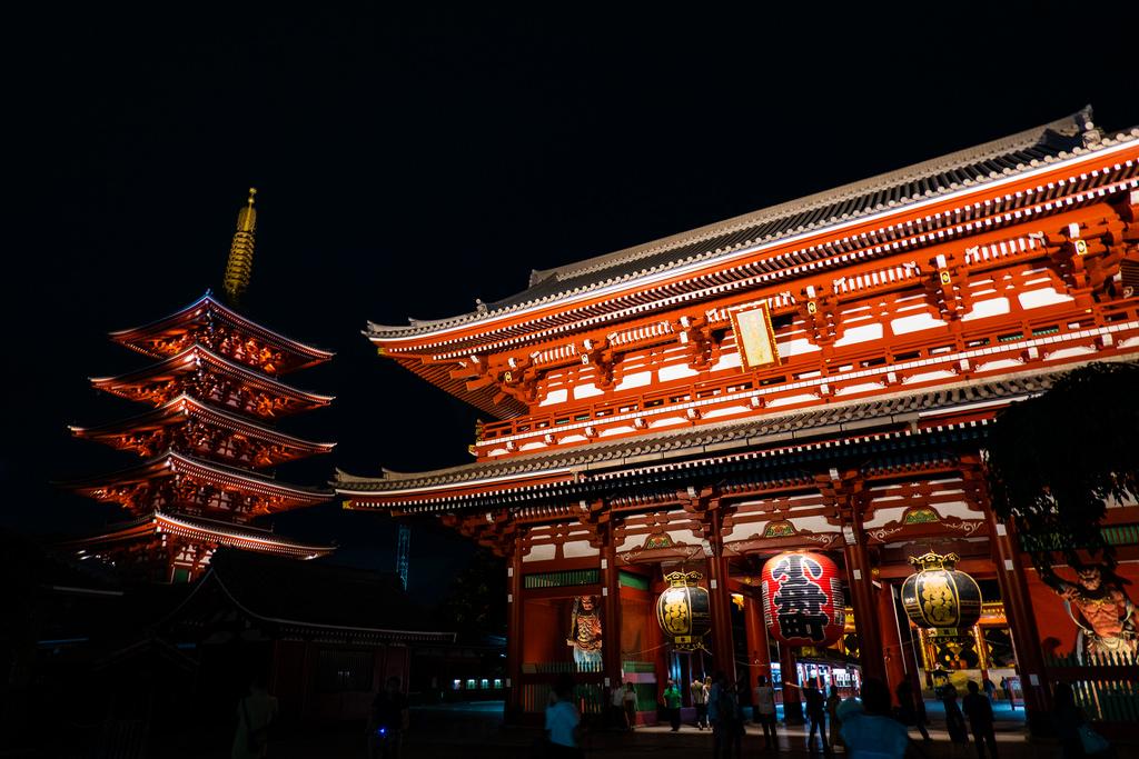 El templo Sensoji es uno de los lugares que ver en Tokio