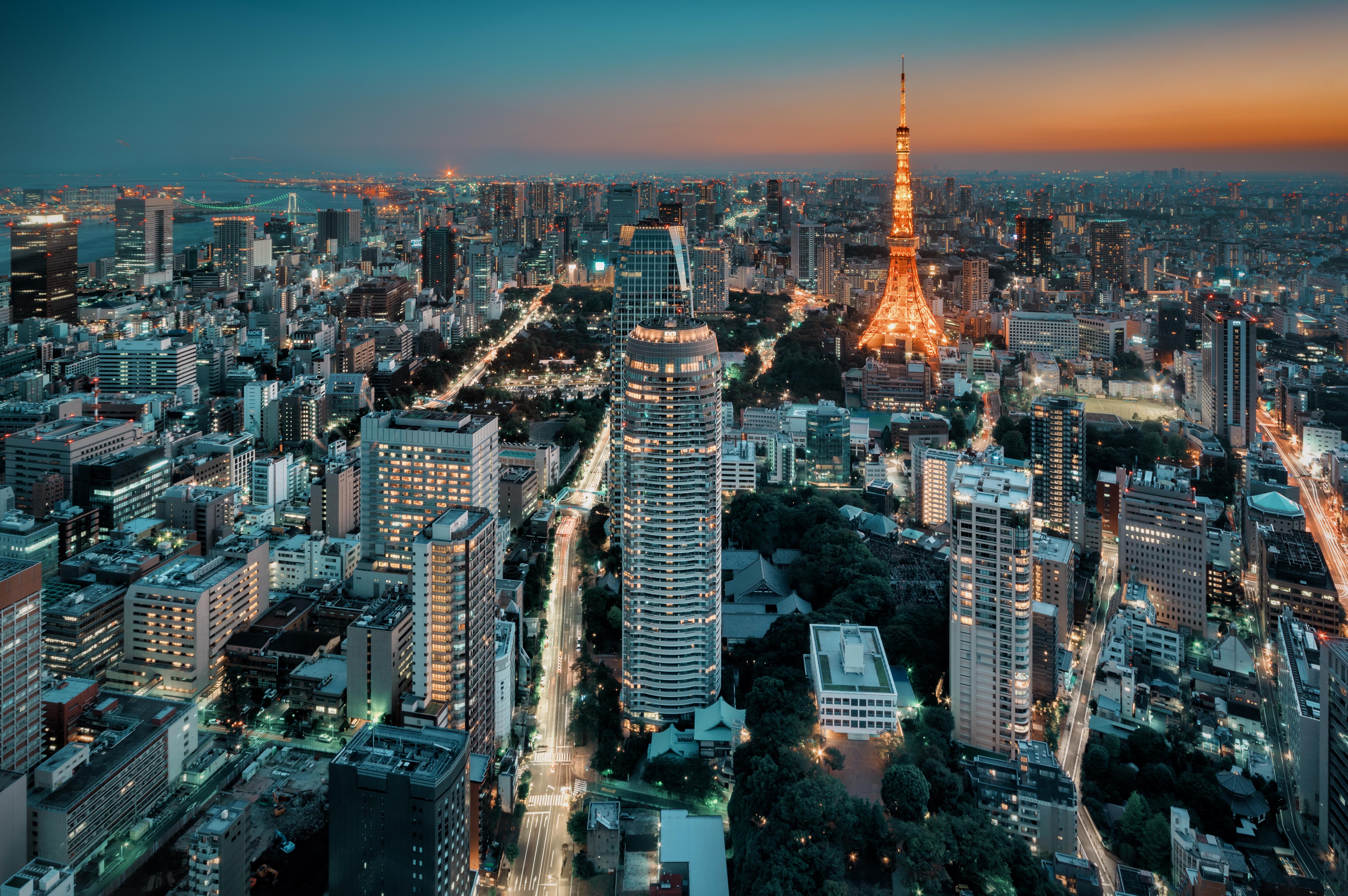 Qué ver en Tokio: miradores de Tokio