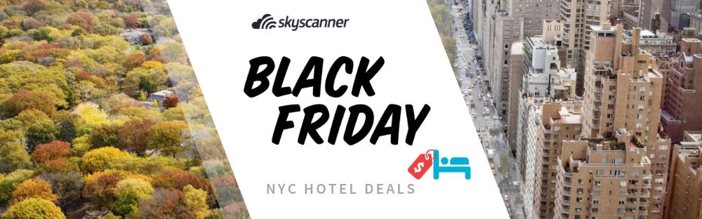 New York City Black Friday & Cyber Monday Hotel Deals