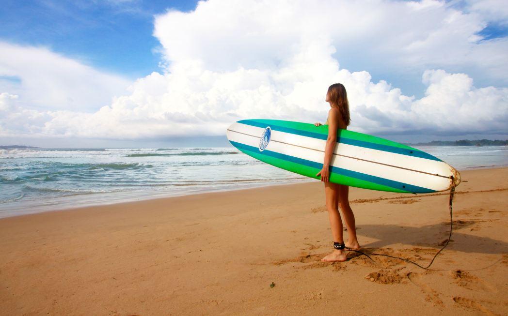 Экипировка для серфинга и дайвинга в Аэрорфлоте: правила провоза