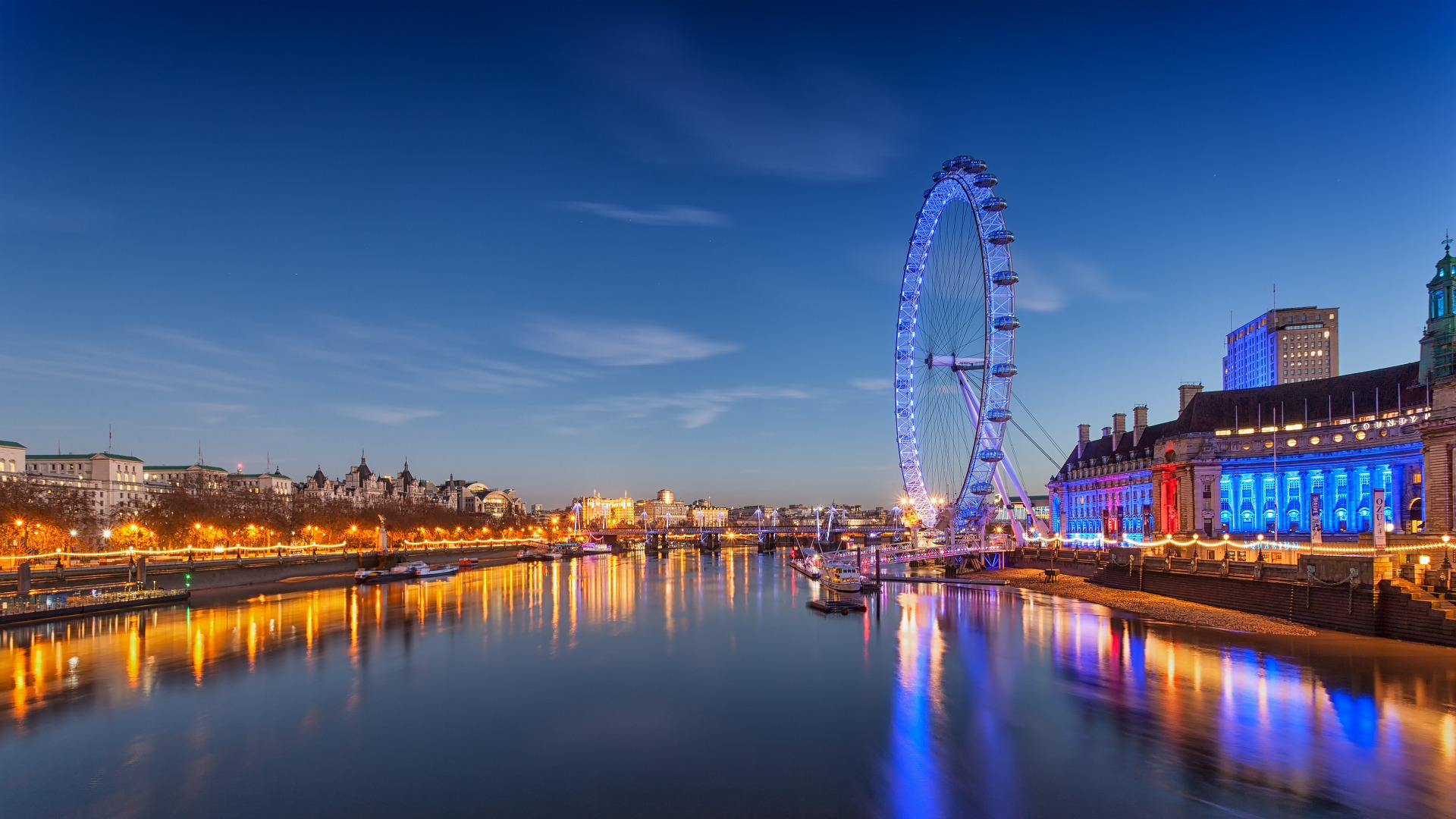 the London Eye. Flight deals to Europe.