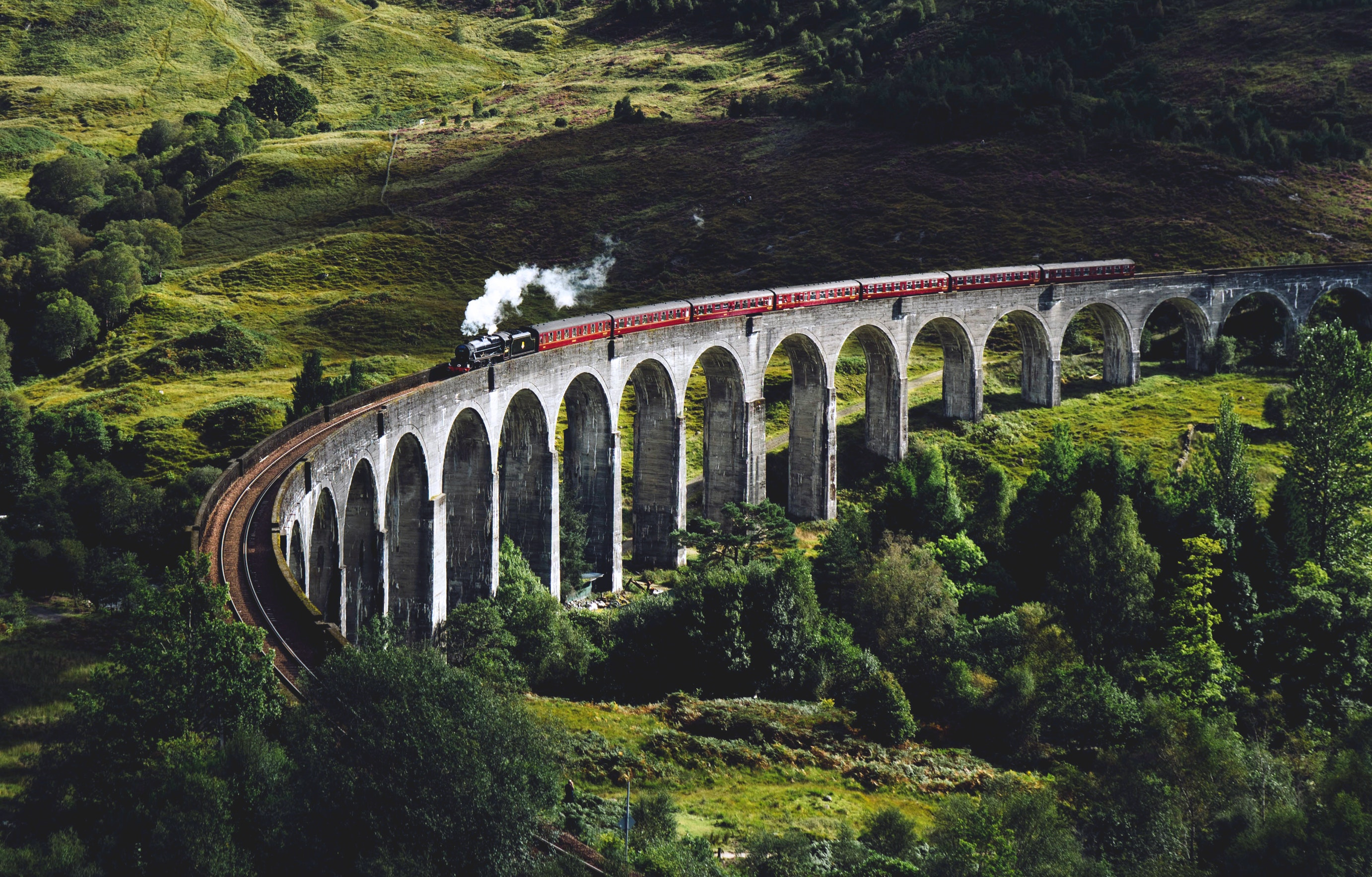 Five of the UK's most scenic train journeys
