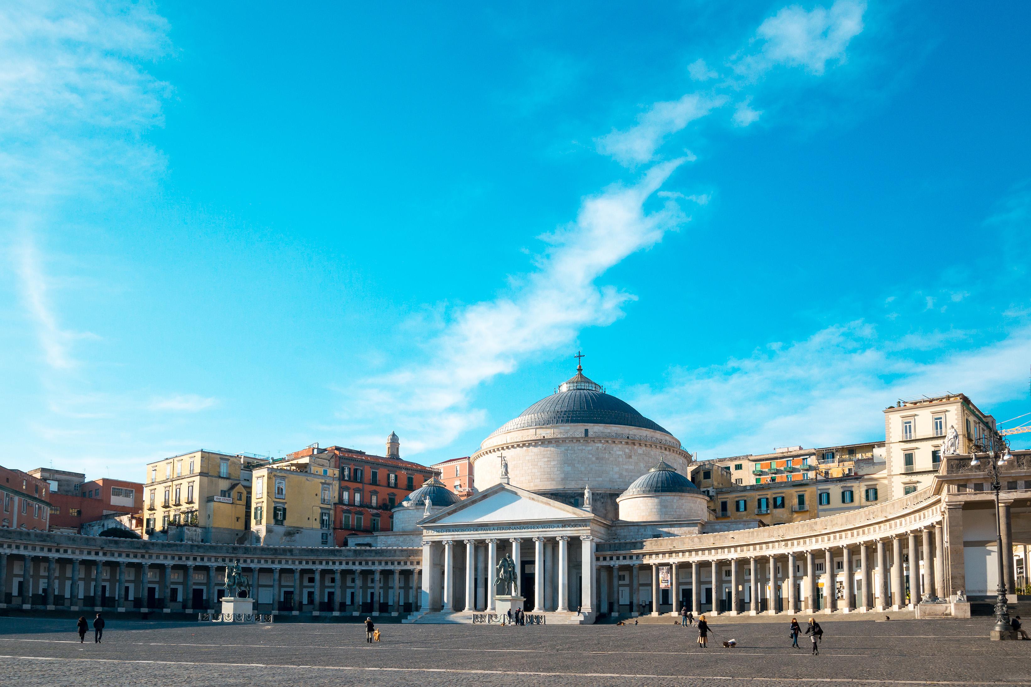 Qué ver en Nápoles: la plaza del Plebiscito