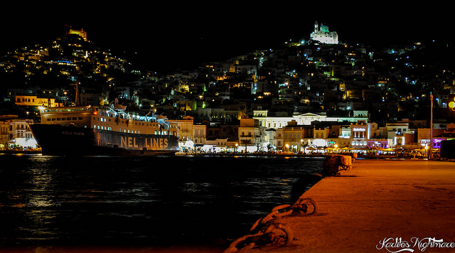 syros-by night-greece