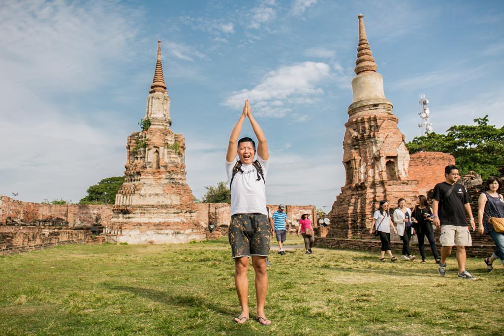 タイ バンコク アユタヤ遺跡