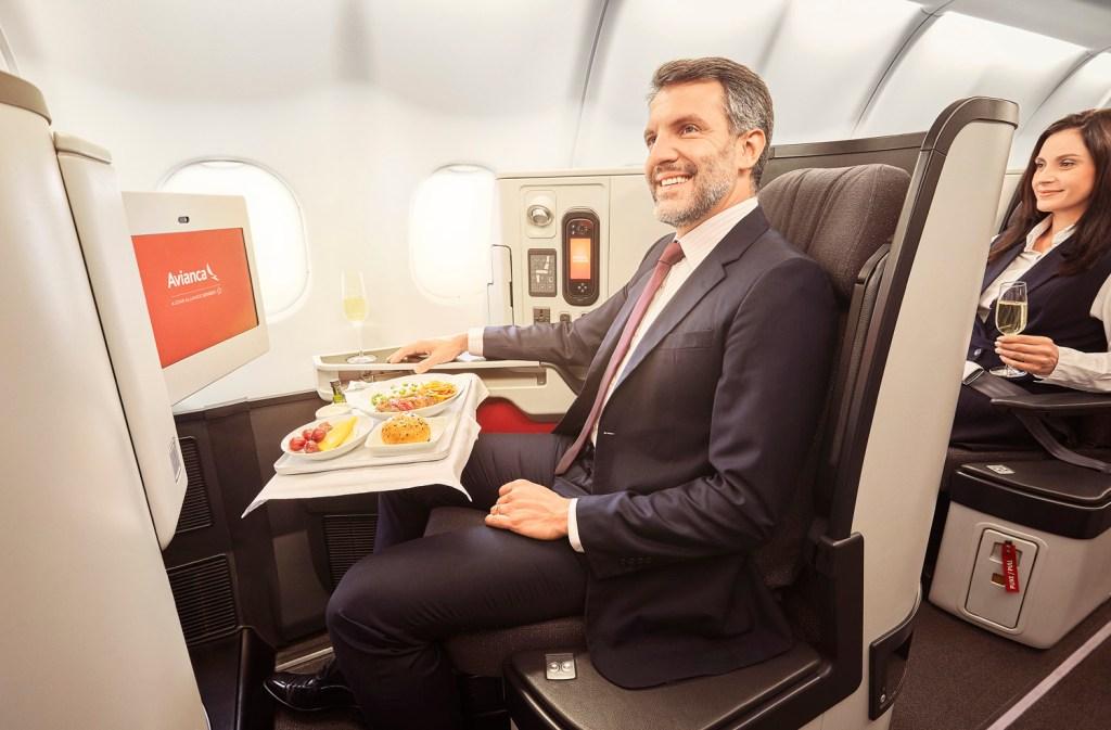 seats avianca flights