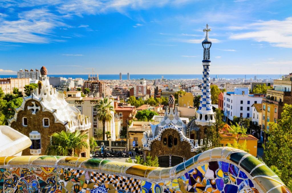 Die schönsten Orte in Spanien: Park Guell in Barcelona, Spanien