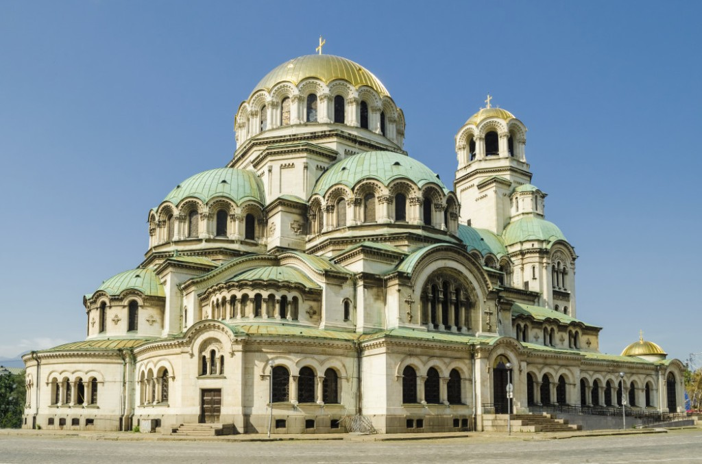 Photo of the Alexander Nevsky Cathedral, in Sofia, which is a Top Summer European Vacation. Budget in Sofia | Skyscanner Canada