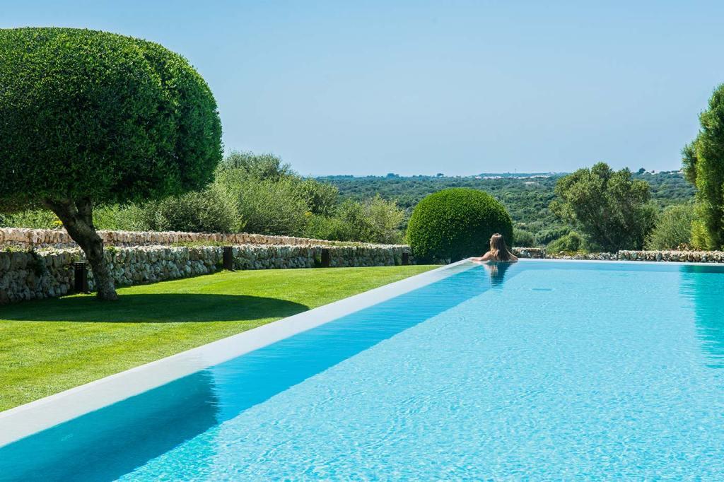 The swimming pool, Cugó Gran, Menorca