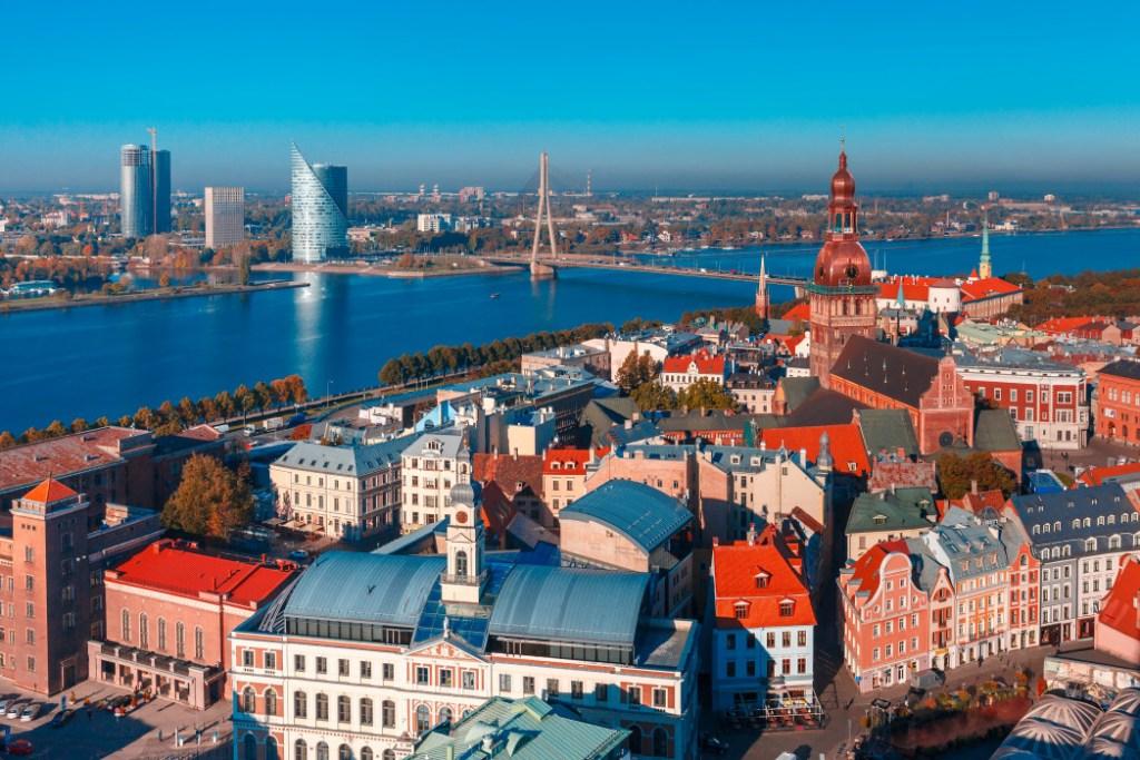 Quelles sont les destinations les moins chères d'Europe ? - Riga, Lettonie