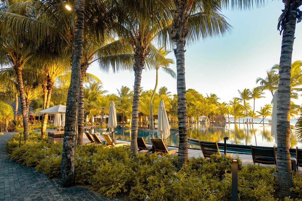 Mauritius swimming pool