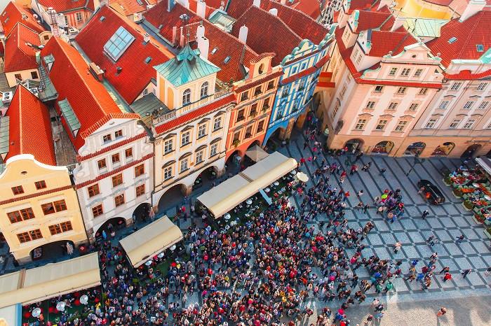 Lentodiilit Eurooppaan: Praha