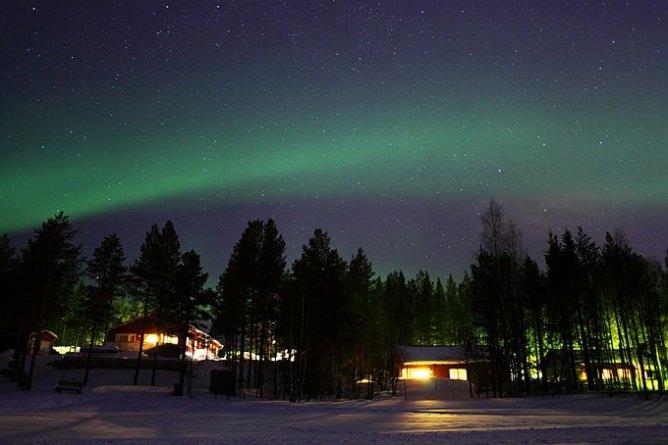 5 endroits pour voir une aurore boréale avec un petit budget - Ivalo, Finlande