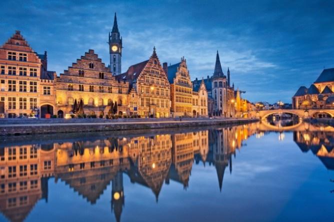 10 destinations où partir en week-end en amoureux - Gand, Belgique