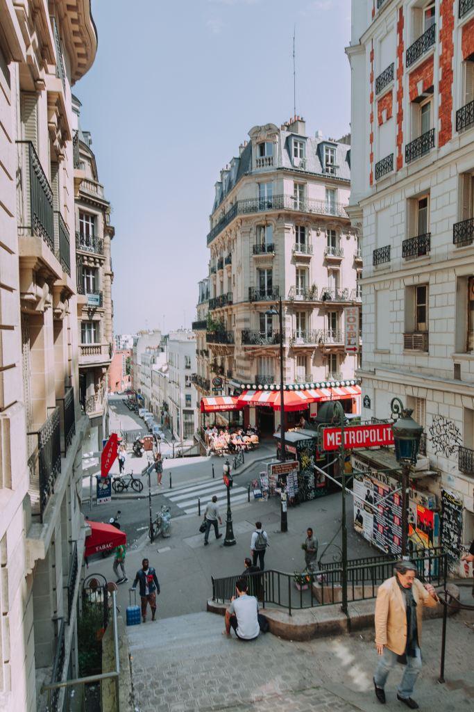 Gatubild i Paris.