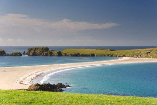 5 endroits pour voir une aurore boréale avec un petit budget - les Îles Shetland, Royaume-Uni