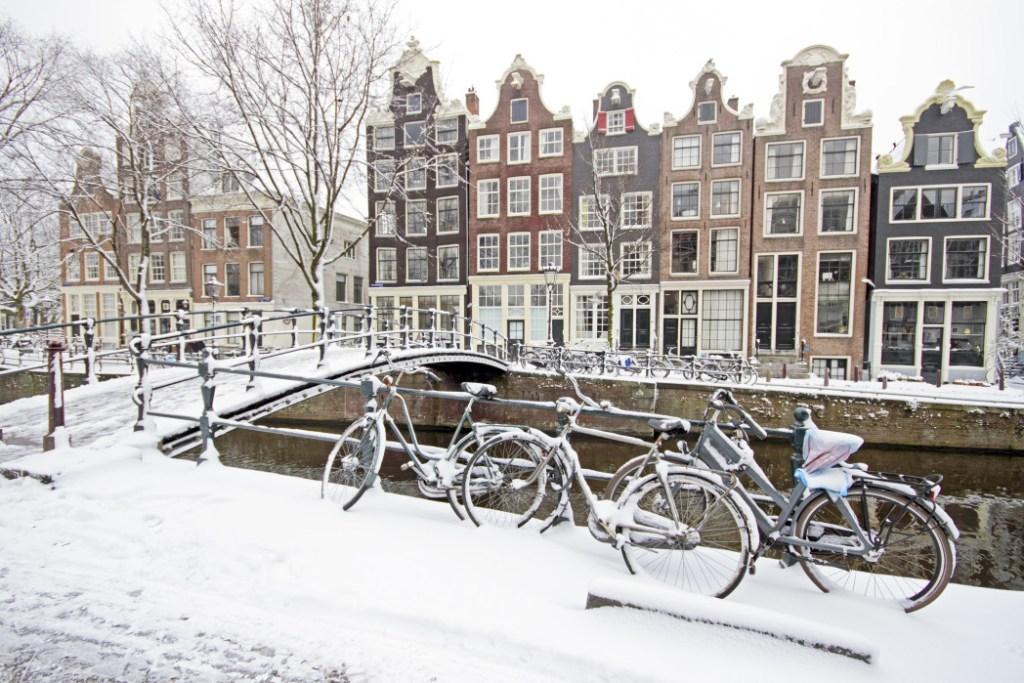 qué ver en Ámsterdam: Ámsterdam en invierno