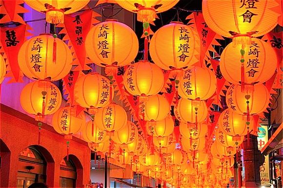 日本国内の冬の絶景5選 長崎ランタンフェスティバル