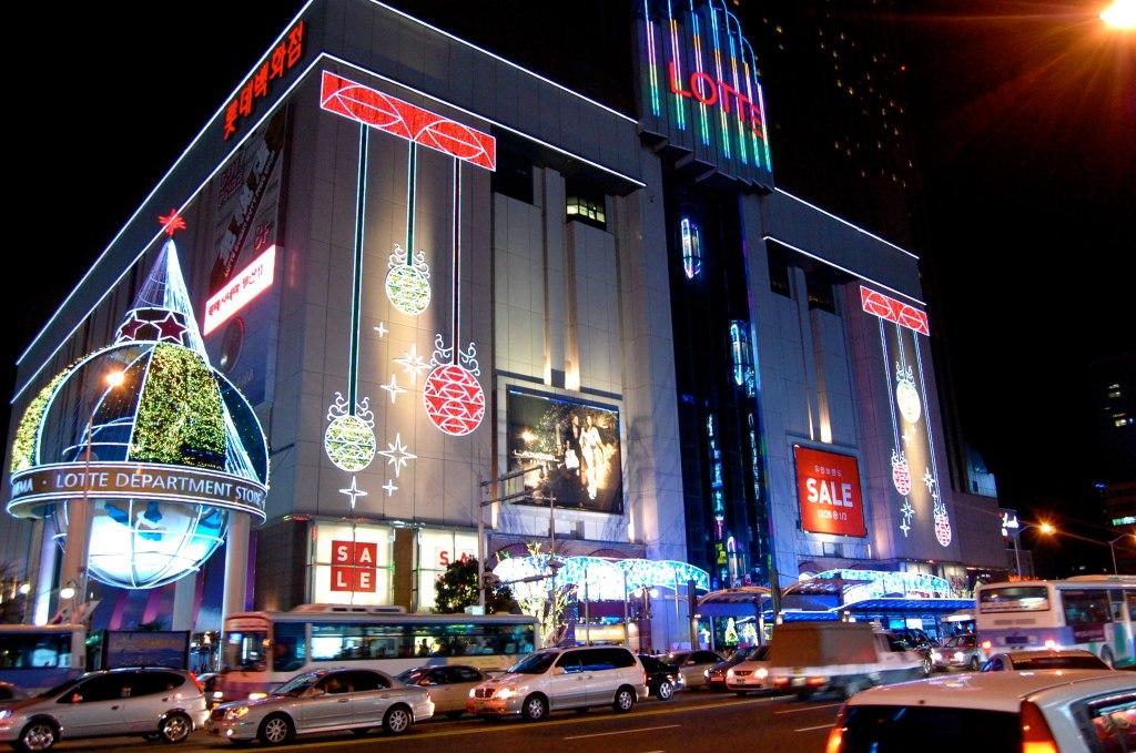 korea itinerary busan shopping