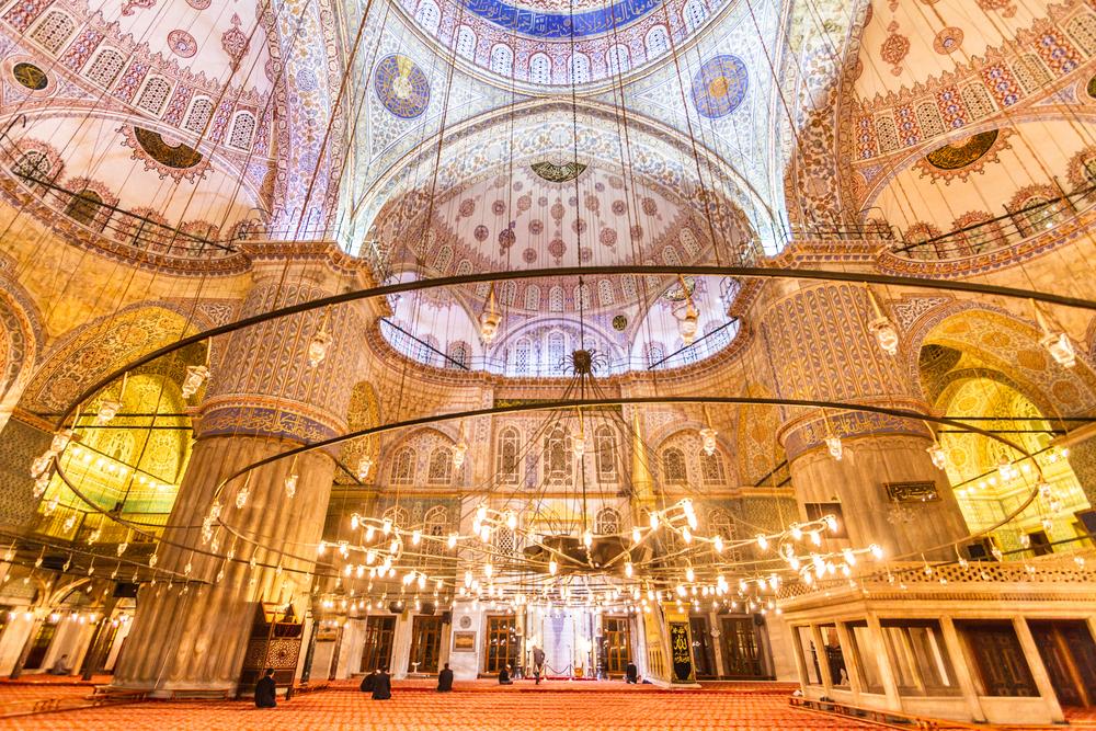 「スルタンアフメット・ジャーミイ」、通称「ブルー・モスク」