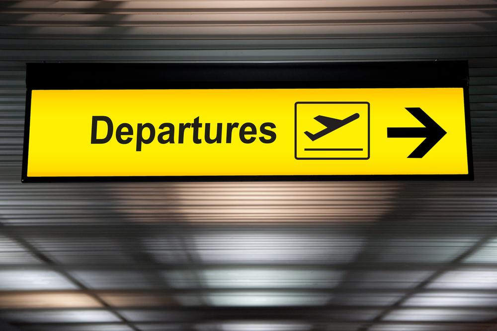 出国税 出発 Departures