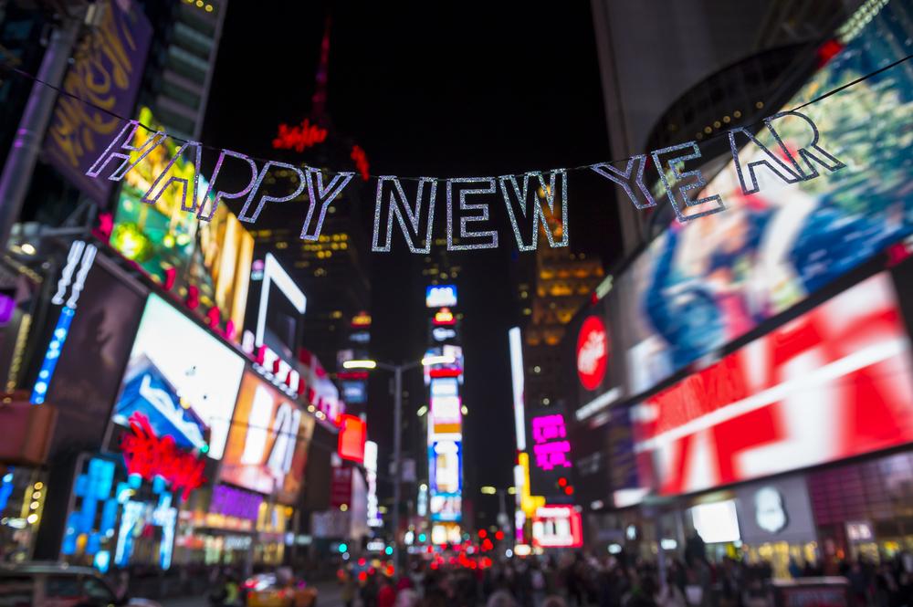 ニューヨーク カウントダウン タイムズスクエア Times Square, NY, Countdown