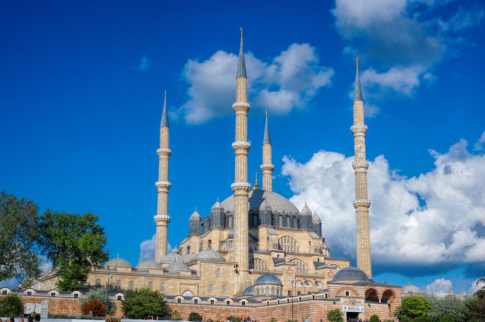 世界遺産3:トルコ最高の建築「セリミエ・モスク」